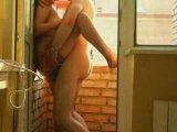 Секс на балконе