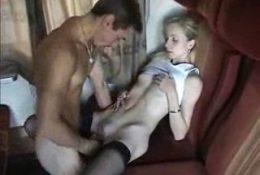Секс в вагоне поезда