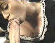 Оральный секс с горничной - ретро порно онлайн